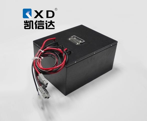 KXD-24V-80AH 轨道平板车磷酸铁锂电池