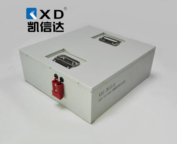 KXD-24V-60AH低温冷链穿梭板专用锂电池